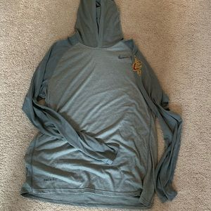Nike Cavaliers Pepsi long sleeve hoodie L new rare
